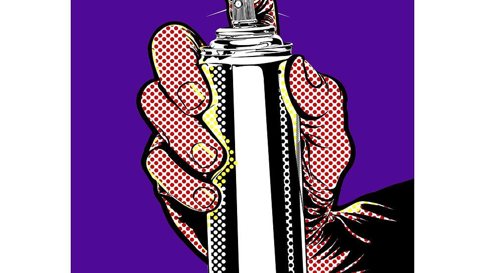 Spray Can (Purple)