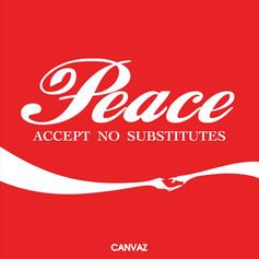 Peace. Accept no substitutes (2014)