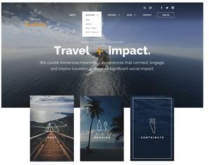 QV Brands - Website Design - Fathom Website Home