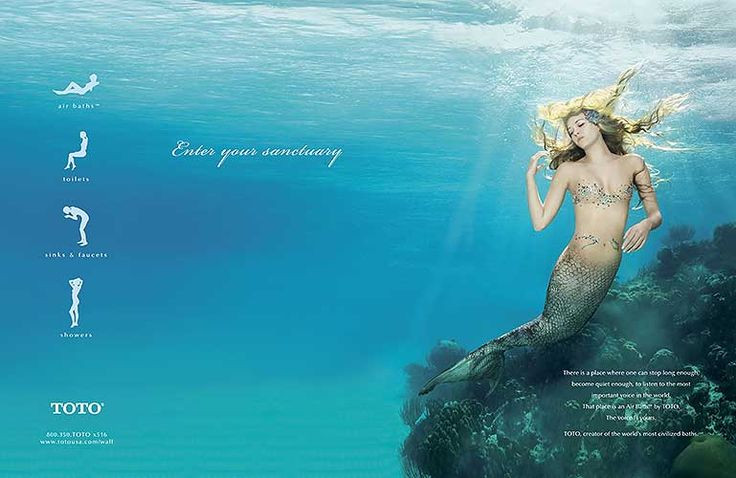 QV TOTO Mermaid Blonde