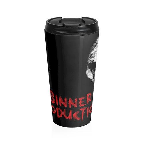 Sinner Productionz Stainless Steel Travel Mug