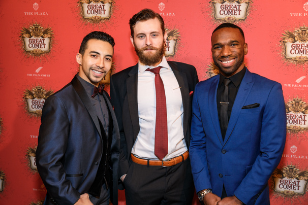 Great Comet Broadway Opening Night