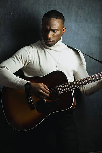 Acoustic Guitar Watch Christian Cross Turtleneck Singer-songwriter