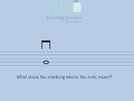 Simple violin marking