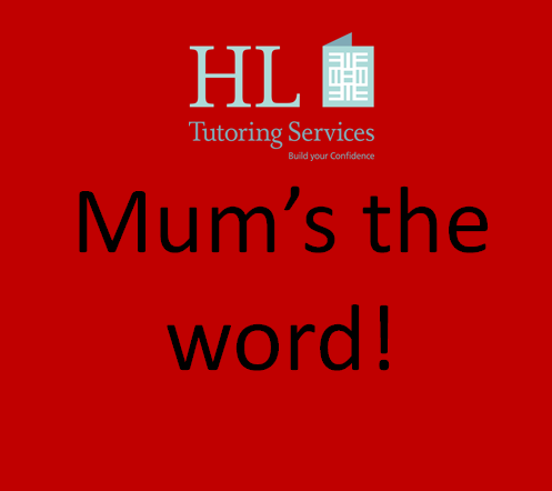 Mum is the word