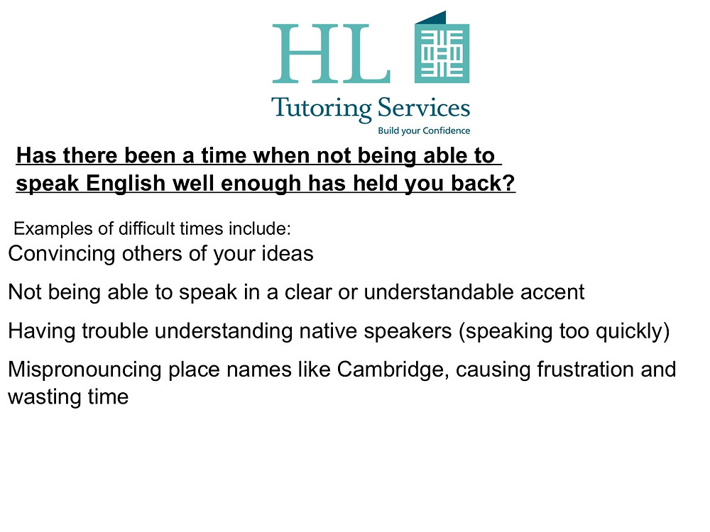 Improve English Language Speaking Skills with HL Tutoring Services and Avoid Common Communication Problems