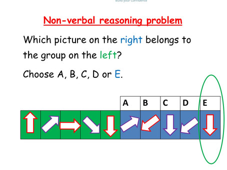 Answers for the following problem:        Which arrow would you choose?