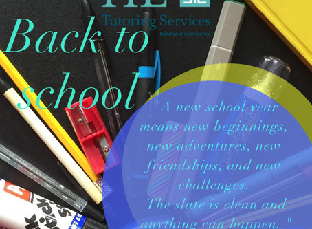 Back To School with HL Tutoring Services