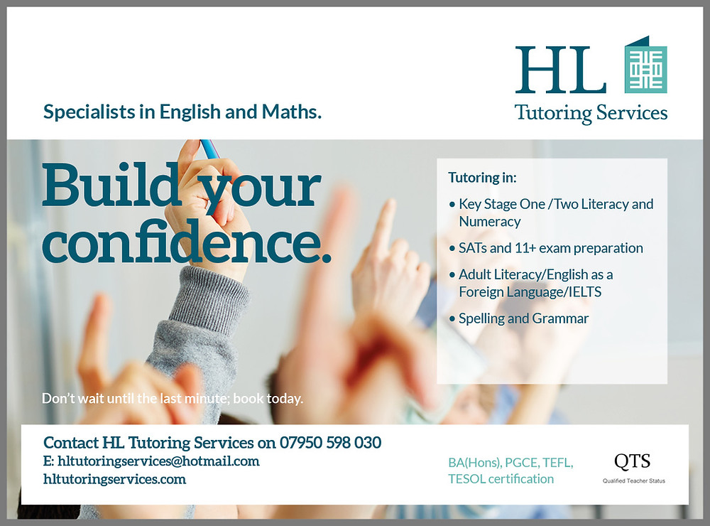 Specialists in English and Maths Tuition Primary School English and Maths, English as a Foreign Language, SATs and 11+ preparation, IELTS, English Language Conversation, Phonics, Spelling and Grammar Tuition
