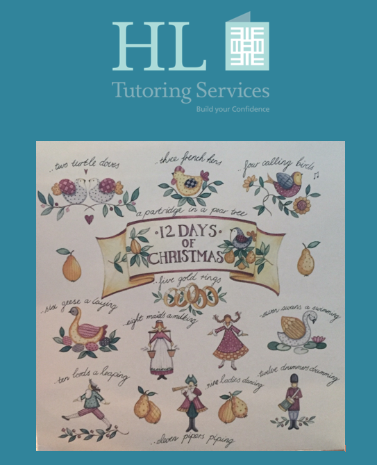 12 days of Christmas - Maths Problem Solving With HL Tutoring Services