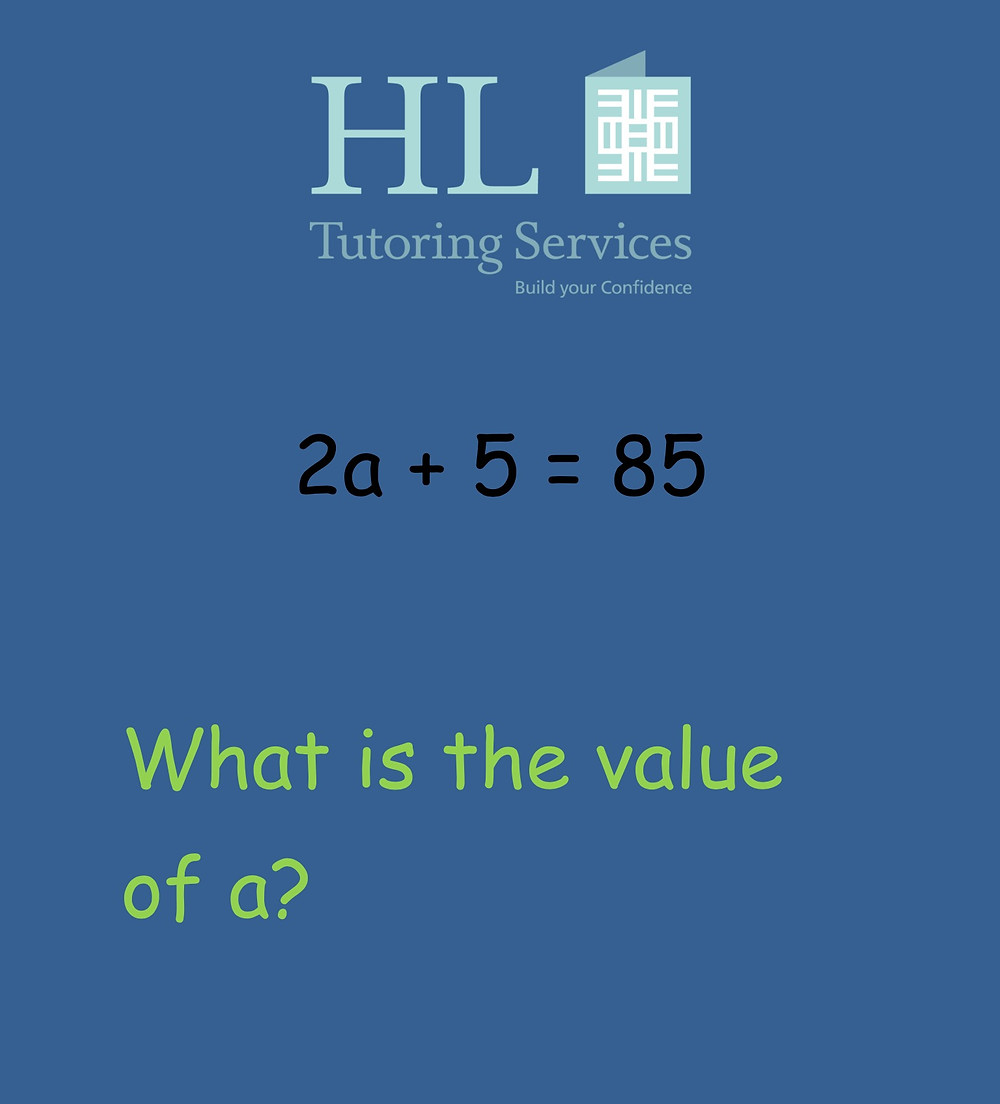 What is the value of a?