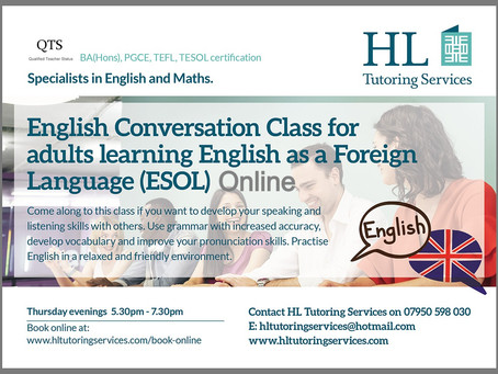 Sign up for success:  The Online English Conversation Class