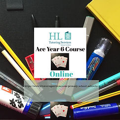 Ace Year 6 Course with HL Tutoring Services
