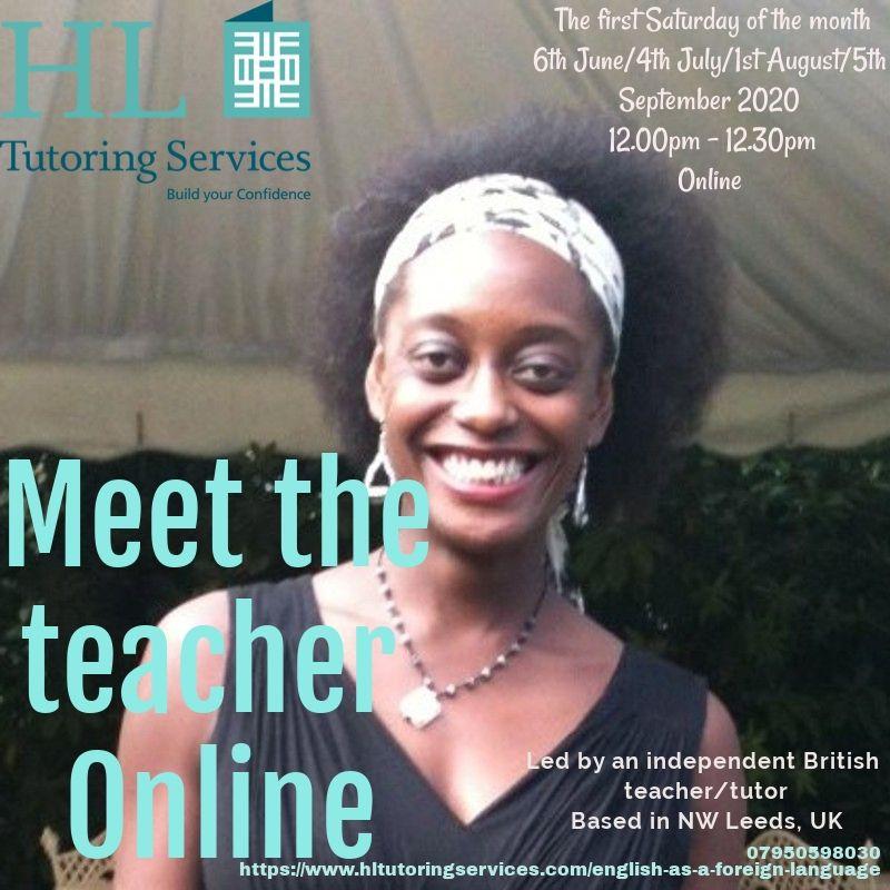 Meet the teacher HL Tutoring Services