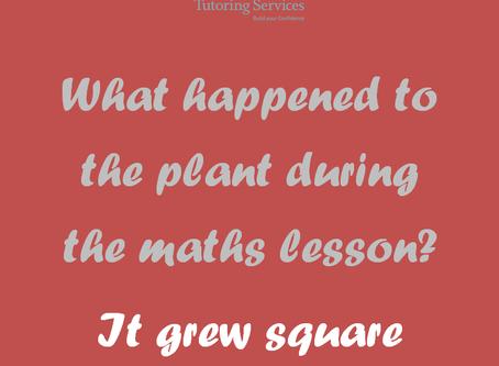 Funny plant maths joke