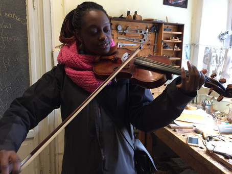 A violinist's visit to Cremona, Italy