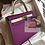 Thumbnail: Hermes Kelly 28 Anemone Craie Togo Sellier Gold Hardware