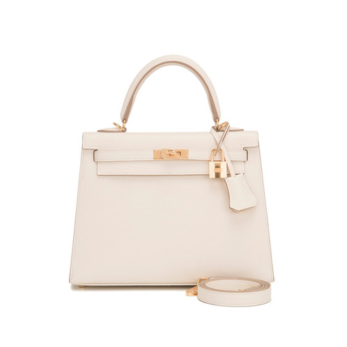 42663f21133e ... usa hermes kelly 25 craie epsom sellier gold hardware bag is a real  masterpiece of the