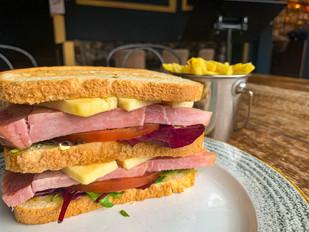 Wiltshire Ham & Cheddar Cheese Sandwich