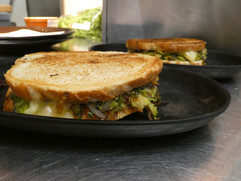 Christmas Sprout Sandwich