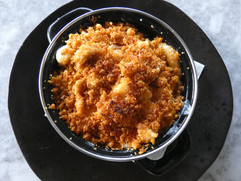 Mac & Cheese with Bread Crumb Top