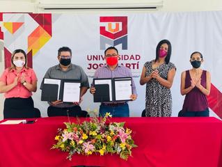 Firman convenio de colaboración Universidad José Martí y Colima VIHve
