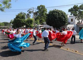 Destacada participación del IJM en desfiles por aniversario del 20 de noviembre