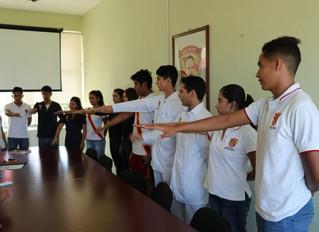 """Toma de protesta de la plantilla estudiantil """"Revolución Martí"""""""