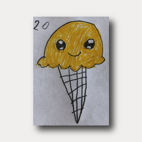 Raising Creatively Ice Cream Drawing