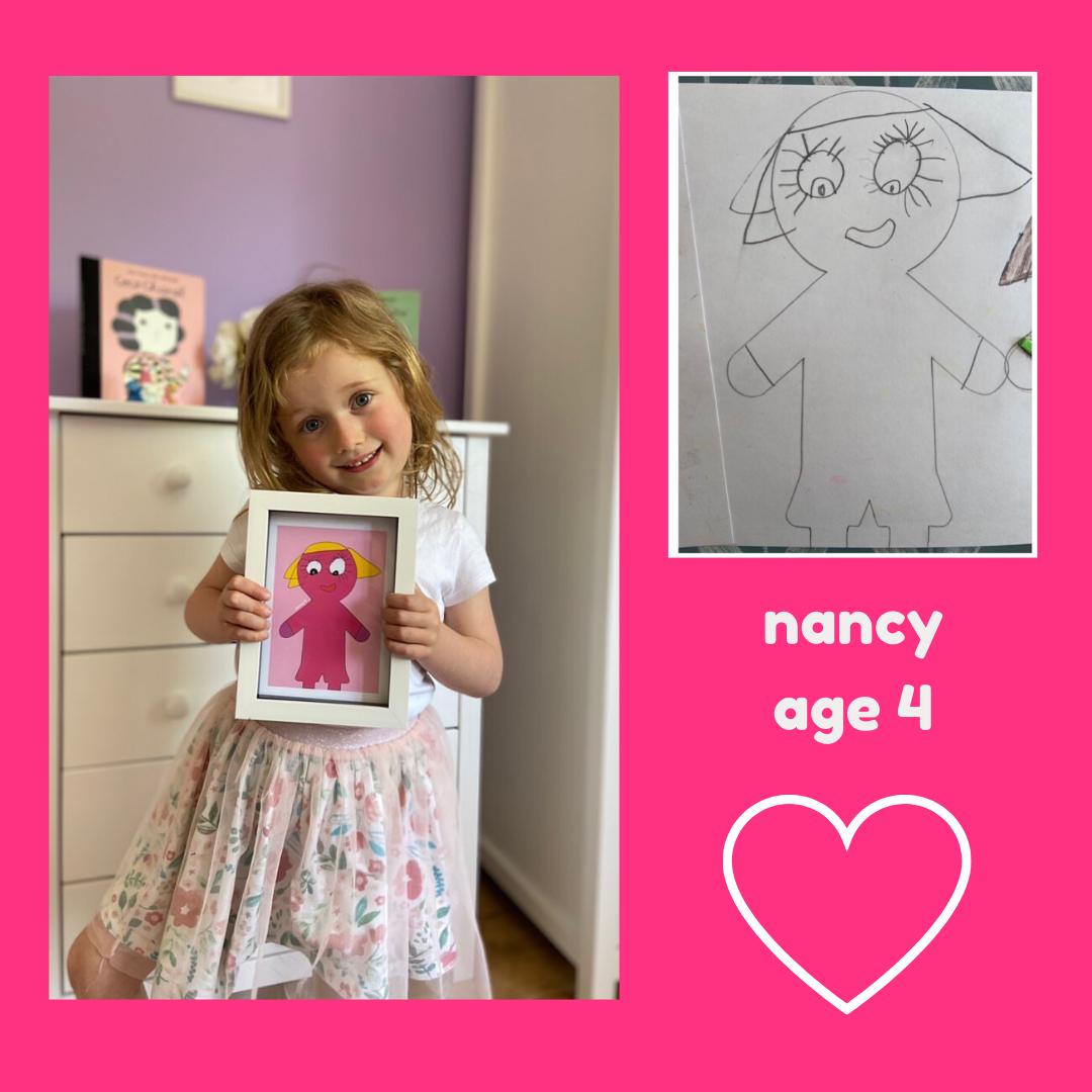 nancy age 4