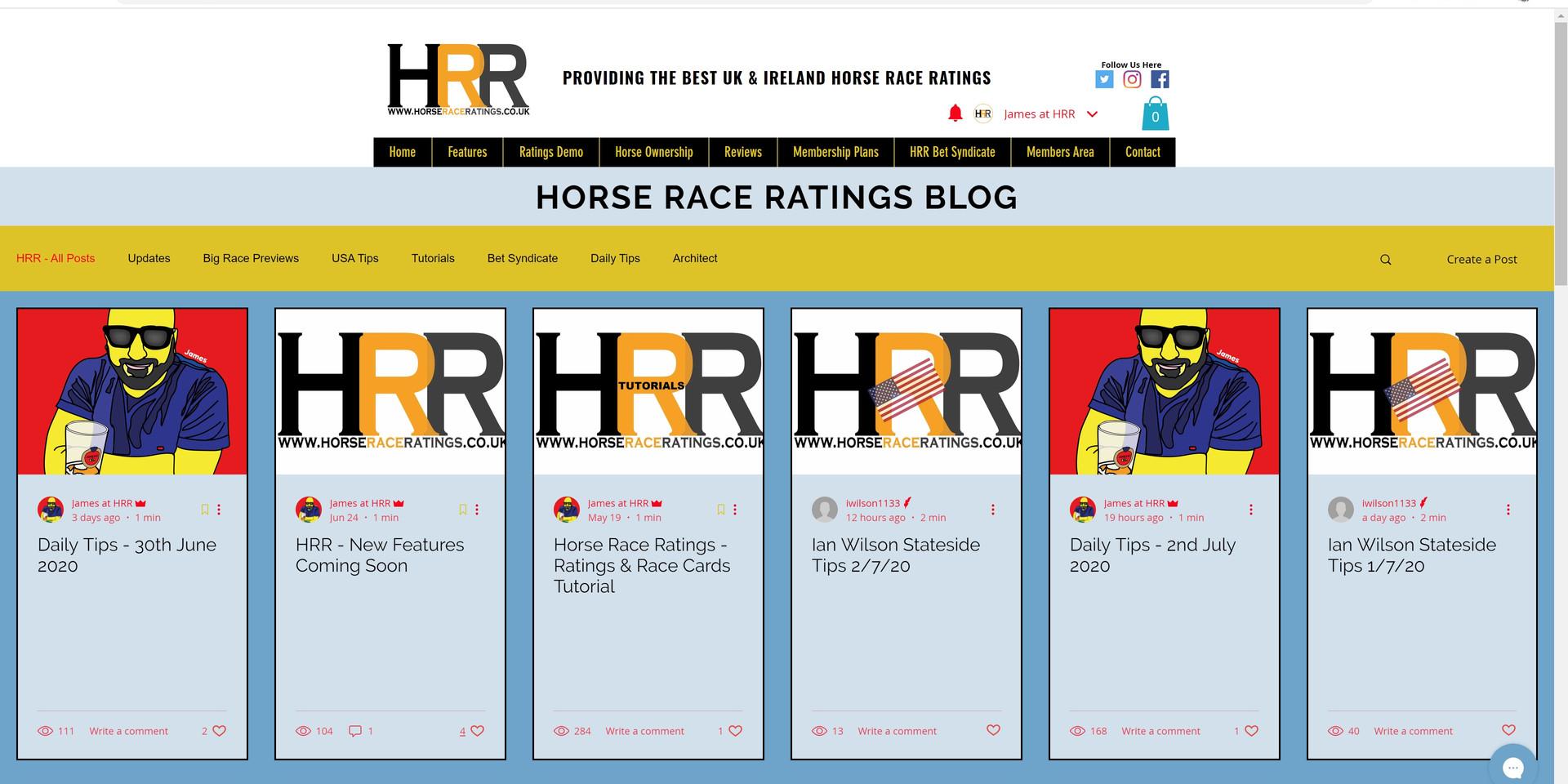 HRR Blog