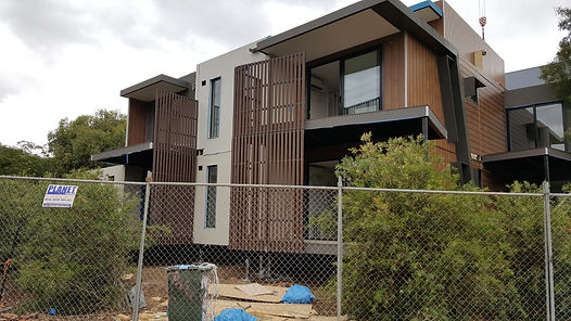 Prefab modular buildings installed on Surefoot