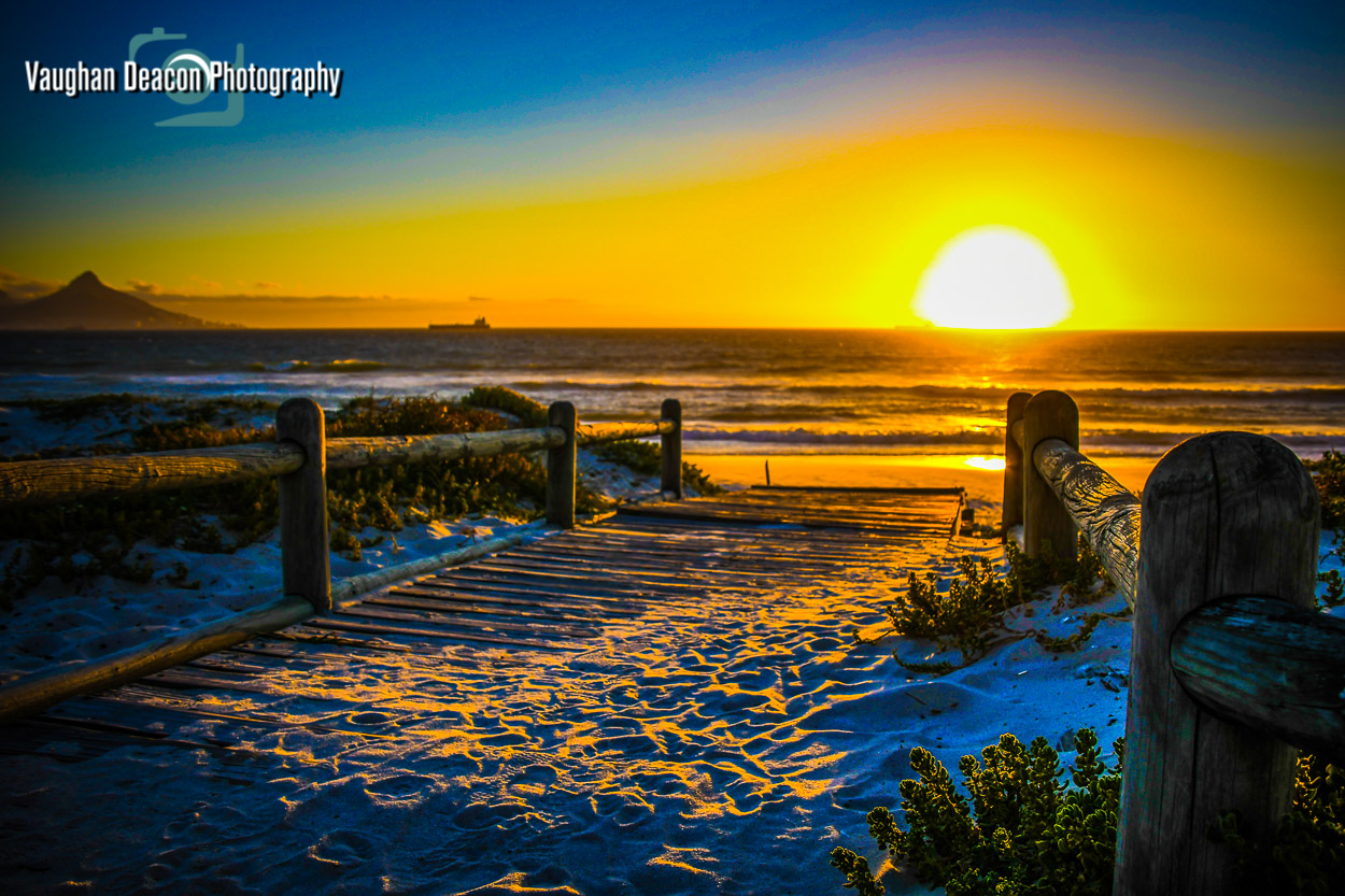 Blouberg sunset