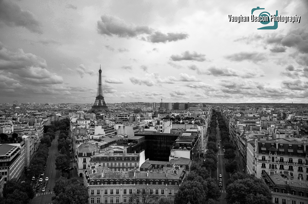 Paris cityscape - EiffelTower