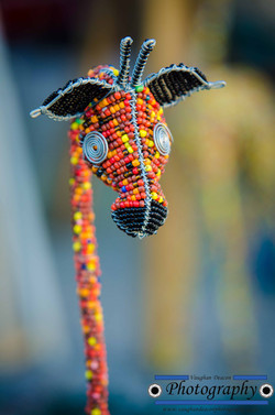 African Bead work - Giraffe