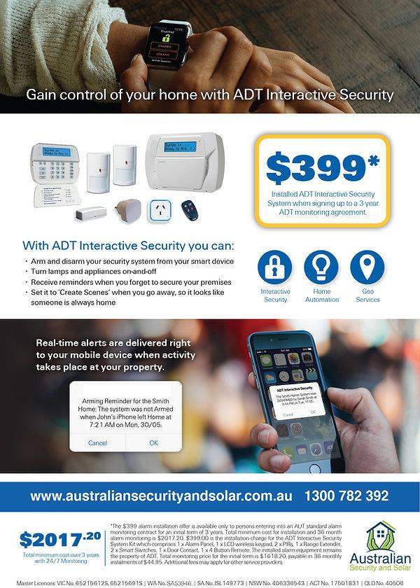 ADT Interactive Security 399