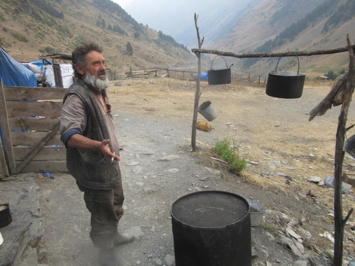 in Tusheti, Georgia