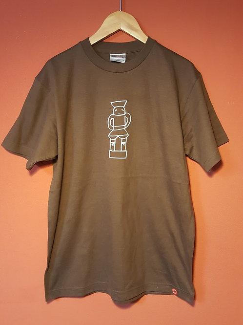ハニャッとハニワTシャツ