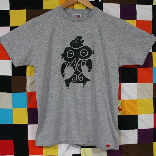 遮光器型土偶Tシャツ
