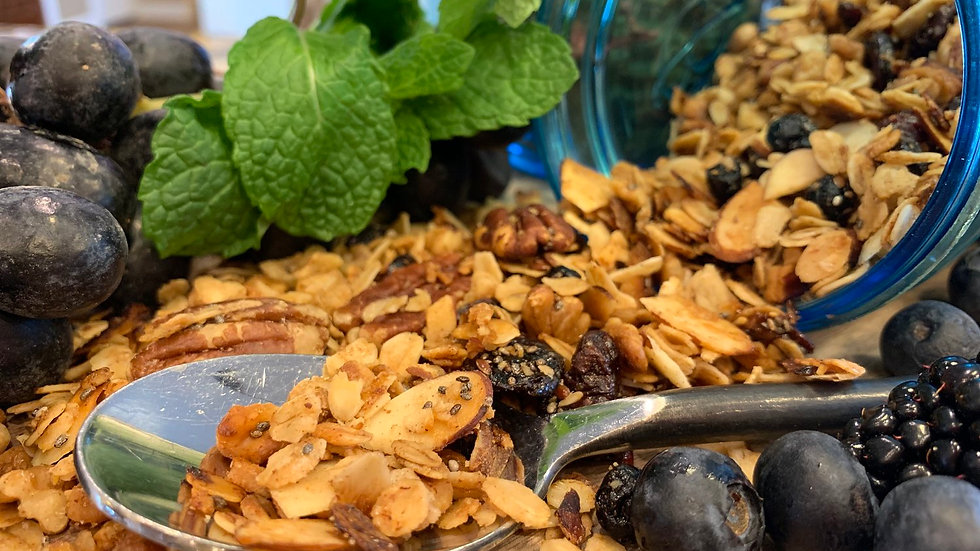 Dried Fruit and Nut Granola