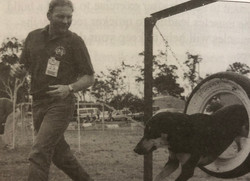2001- Steve Dinkwater and Tess (bedframe