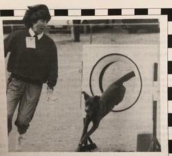 1995 Aug Liz Yuill and Teddy