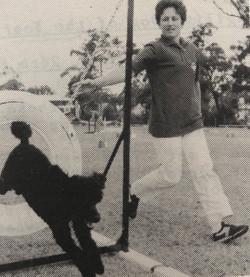 2003 April Cathy Millard and Toto