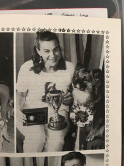 1996 Feb Pat Walsh and Annika - Australi