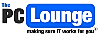 The PC Lounge Logo