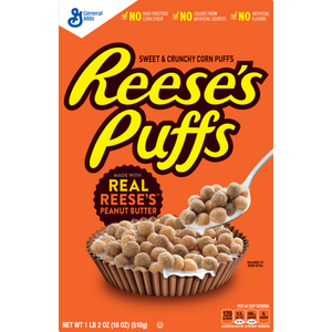 Reese's Puffs Cereal - 326gr