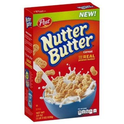 Nutter Butter Cereal Post