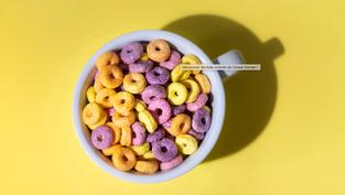 Découvrez les bols colorés du Cereal Corner !