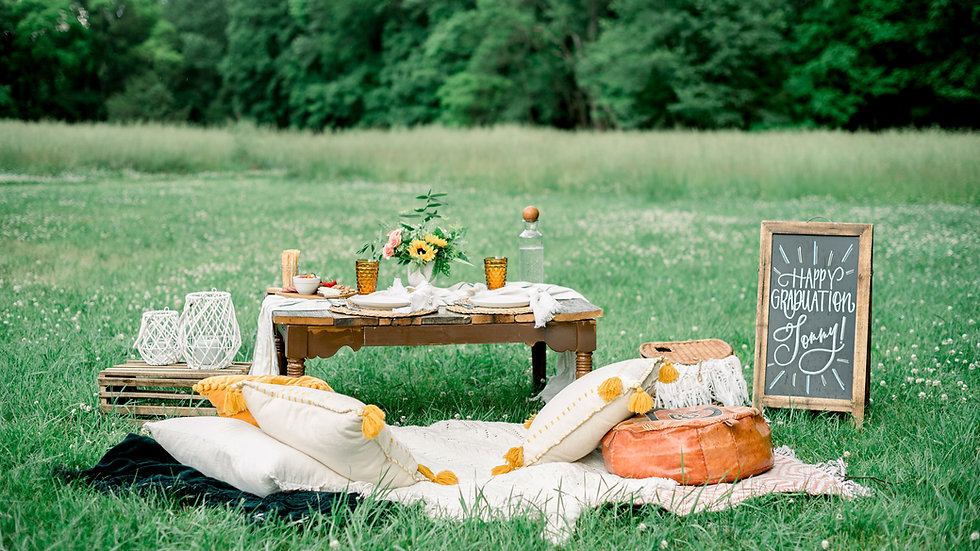 Deluxe Styled Picnic Package