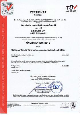 ÖNORM EN ISO 3834-3